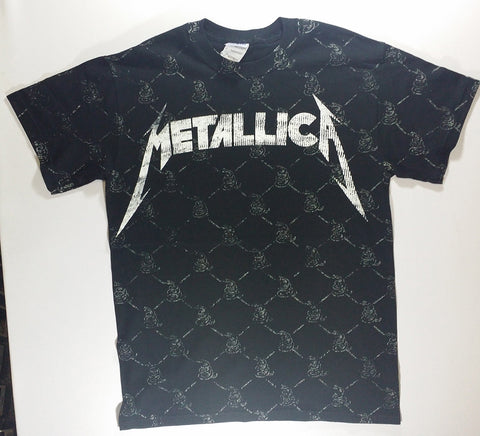 Metallica - Nothing Else Matters Snakes All-Over Print Shirt