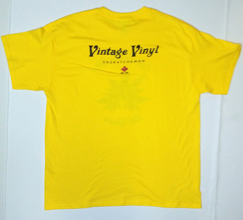 Vintage Vinyl - Still Smokin' After 25 Years Yellow Shirt