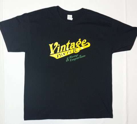Vintage Vinyl - 25th Anniversary Black Shirt
