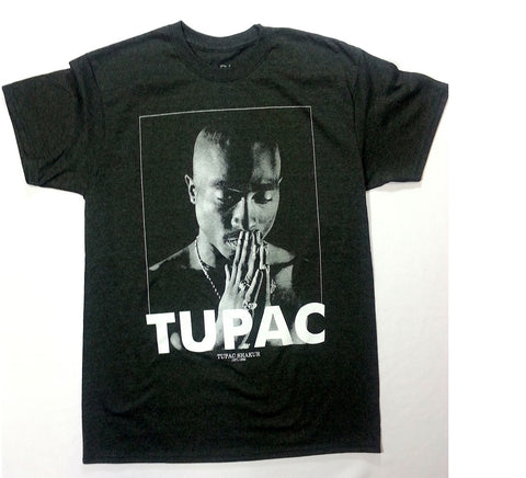 Tupac - Praying (1971-1996) Grey Shirt