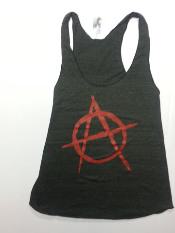 Anarchy - Novelty Tank Top Girlie Shirt
