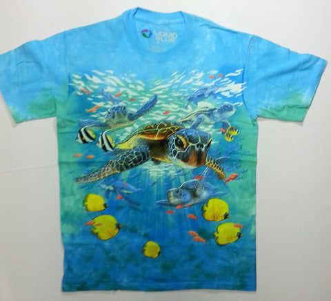 Animals - Sea Turtles Liquid Blue Shirt