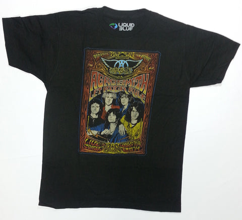 Aerosmith - Let Rock Rule Tour '14 Liquid Blue Shirt
