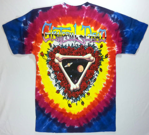 Grateful Dead - Space Your Face Liquid Blue Shirt