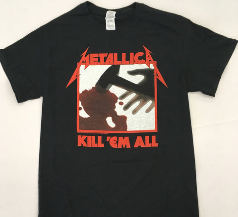 Metallica - Kill 'Em All Black Shirt