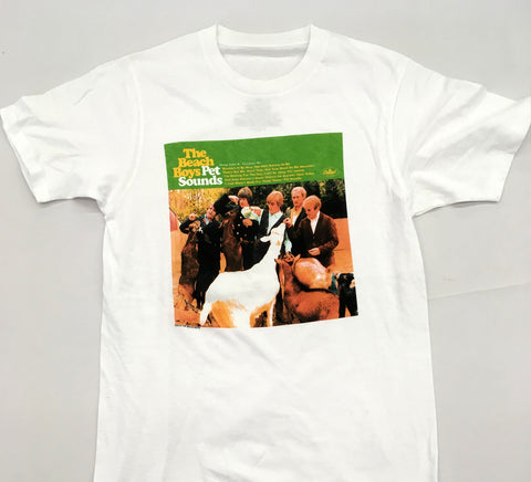 Beach Boys - Pet Sounds White Shirt