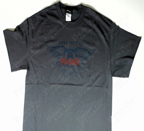 Aerosmith - Vintage Logo Grey Shirt
