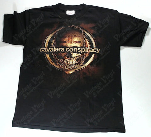 Cavalera Conspiracy - Skull Wrapped In Chains Logo Shirt