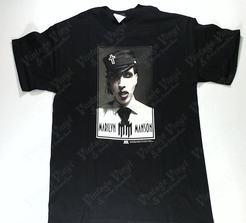 Manson, Marilyn - Portrait With Cross Hat Shirt