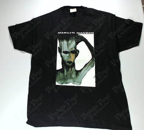 Manson, Marilyn - Creepy Painting Hole In Soul Shirt