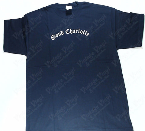 Good Charlotte - On The east Coast We Ride… Navy Shirt