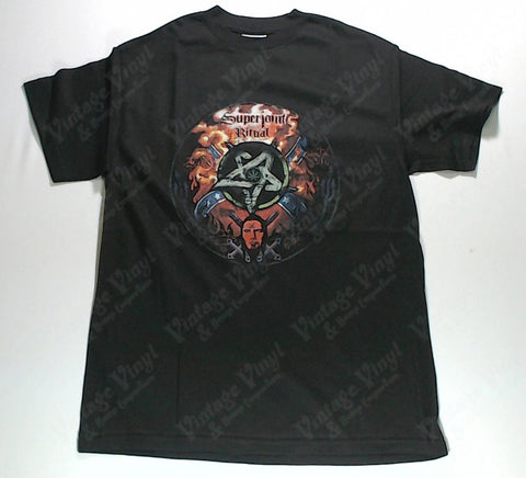 Superjoint Ritual - Pentagram And Weed Leaf Shirt