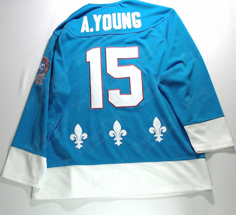 "AC/DC - ""Quebec Nordiques"" Hockey Jersey"