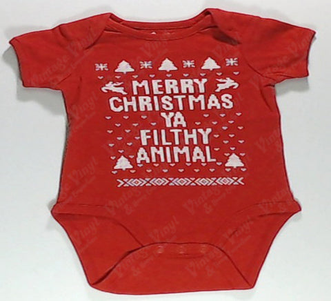 Home Alone - Merry Christmas Ya Filthy Animal Baby Onesie