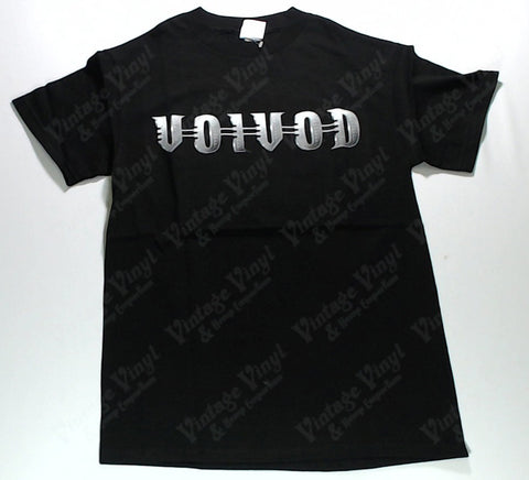 Voivod - Silver Logo Names In Symbol Shirt