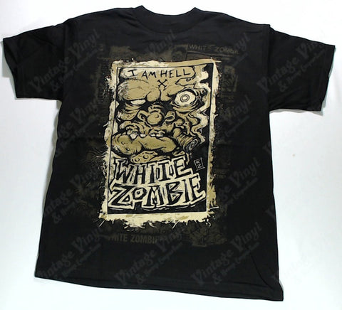 White Zombie - I Am Hell Zombie Face Shirt