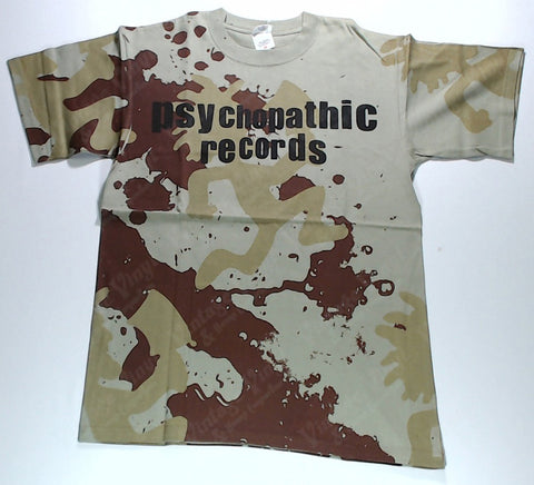Insane Clown Posse - Psychopathic Records Camo All-Over Print Shirt