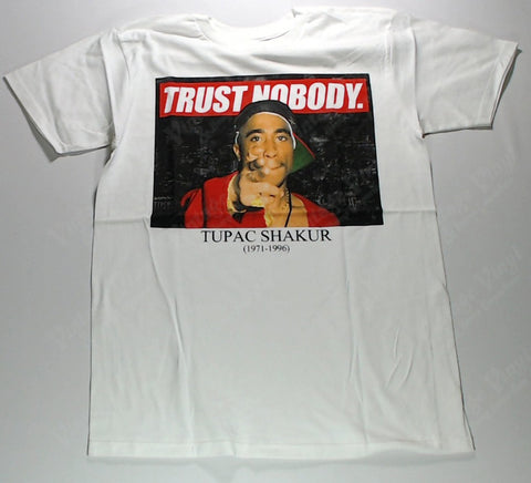 Tupac - Trust Nobody White Shirt