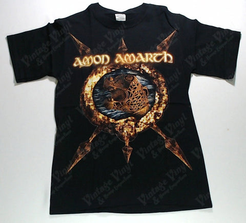 Amon Amarth - Statue in Spiked Circle Shirt