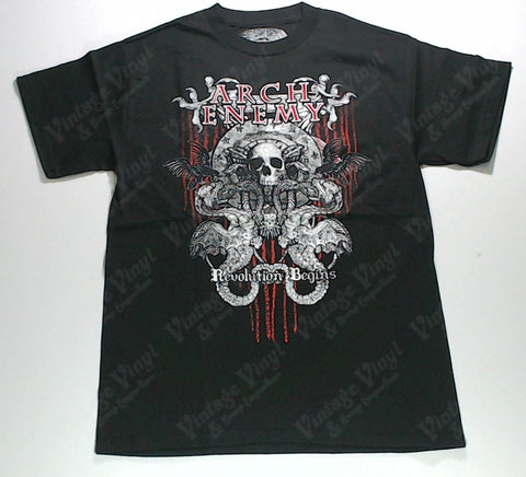 Arch Enemy - Skull and Snakes Shirt