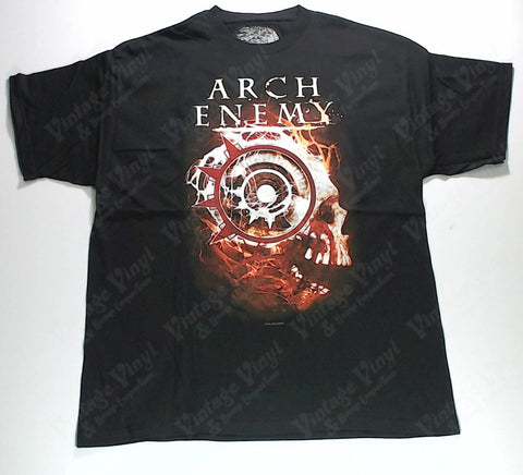 Arch Enemy - Red Skull Shirt