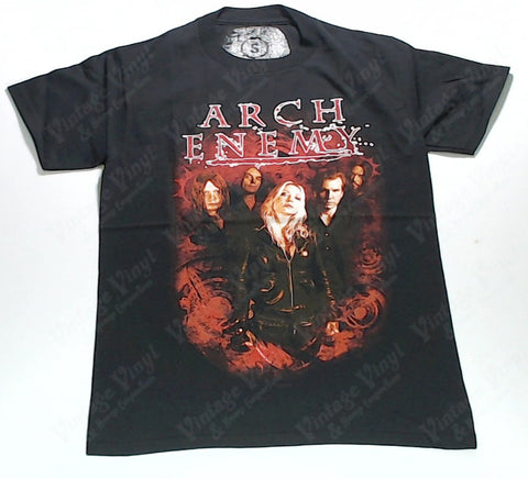 Arch Enemy - Band Red Glow Shirt