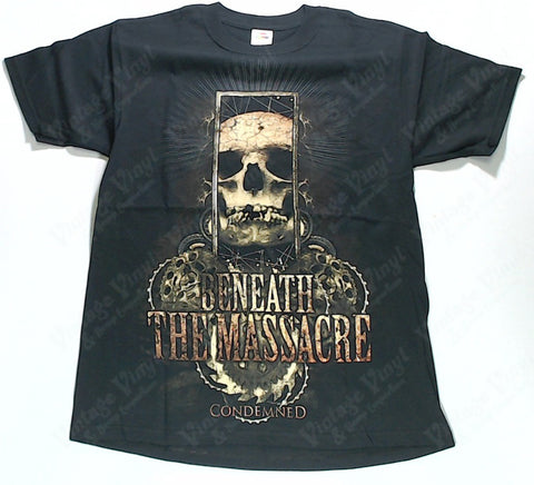 Beneath The Massacre - Condemned Skull Shirt