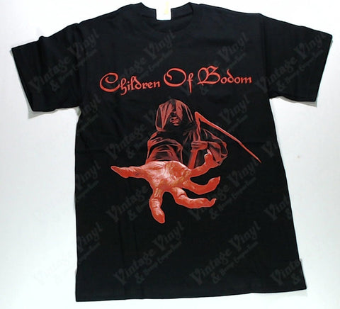 Children Of Bodom - Red Reaper With Hand Out Survived Lake Bodom Shirt
