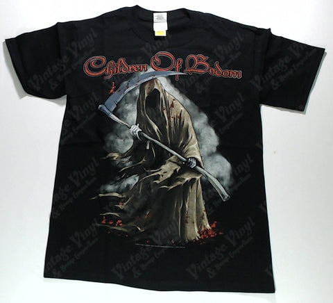 Children Of Bodom - Reaper In Front Of Cloud Shirt