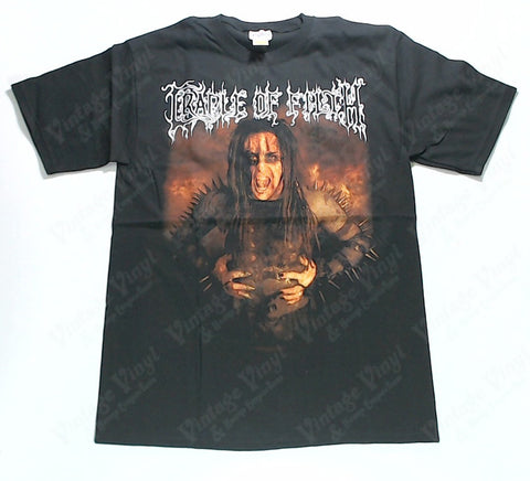 Cradle Of Filth - Filth Monger Spiked Figure White Logo Shirt