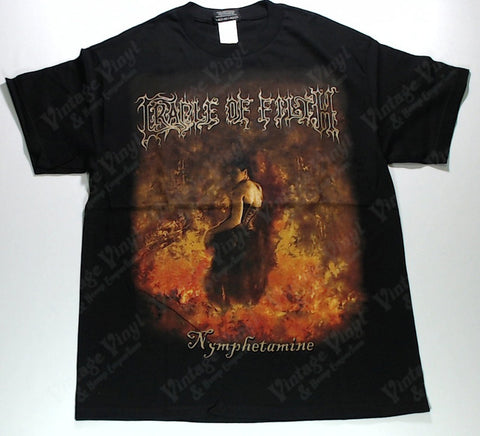 Cradle Of Filth - Nymphetamine Flames Shirt