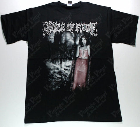 Cradle Of Filth - Wolf In Creeps Clothing Red Woman Shirt