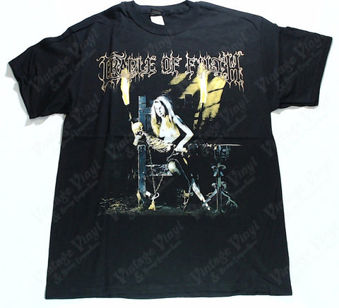 Cradle Of Filth - Dead Grils Don't Say No Skeleton Maiden Shirt
