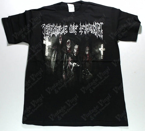 Cradle Of Filth - Band and Crosses Shirt