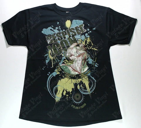 Despised Icon - Green and Blue Splattered Figure Shirt