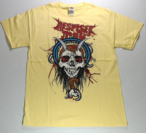 Despised Icon - Horned Skull Yellow Shirt