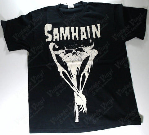 Samhain - Horned Skeleton Shirt