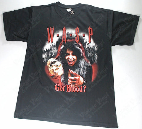 W.A.S.P. - Got Blood? Then I'll Drink Yours! Shirt