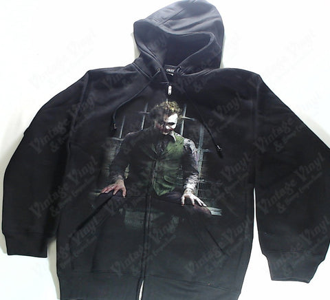 Batman - Joker Sitting Zip-Up Hoodie