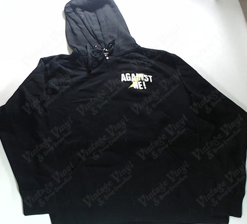 Against Me - Logo Zip-Up Hoodie