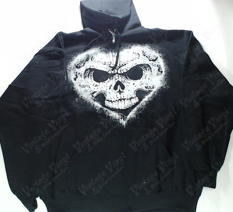 Alexisonfire - Skullheart Zip-Up Hoodie