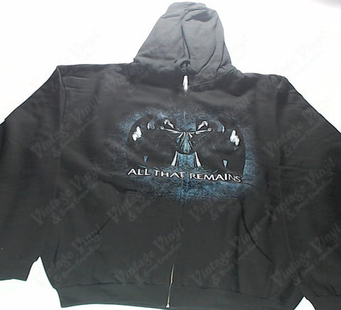 All That Remains - Angel Zip-Up Hoodie