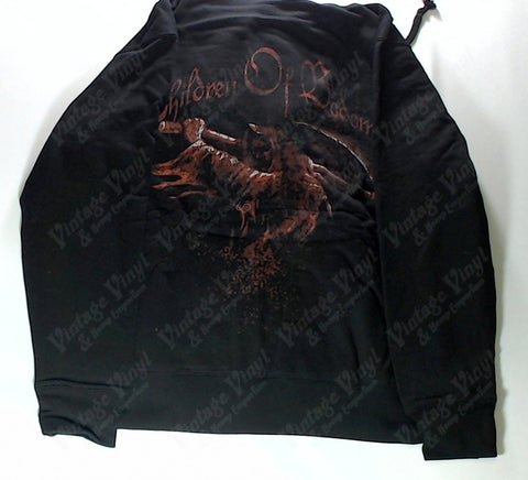 Children Of Bodom - Winged Reaper Zip-Up Hoodie