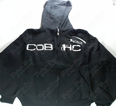 Children Of Bodom - White COBHC Zip-Up Hoodie