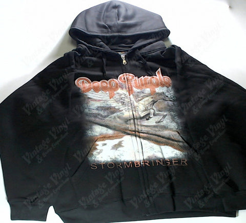 Deep Purple - Stormbringer Zip-Up Hoodie