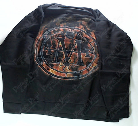 Cradle Of Filth - Flaming Logo Hoodie