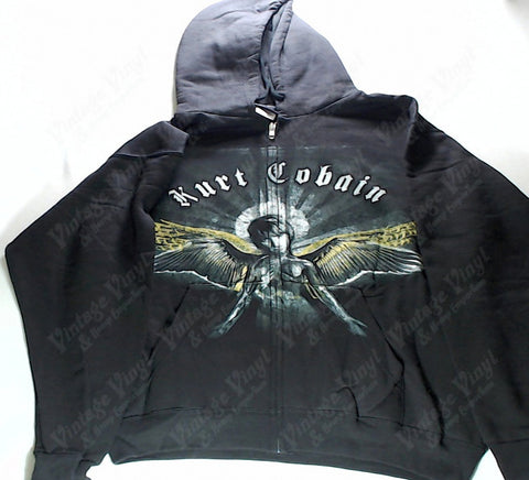 Cobain, Kurt - Angel Zip-Up Hoodie