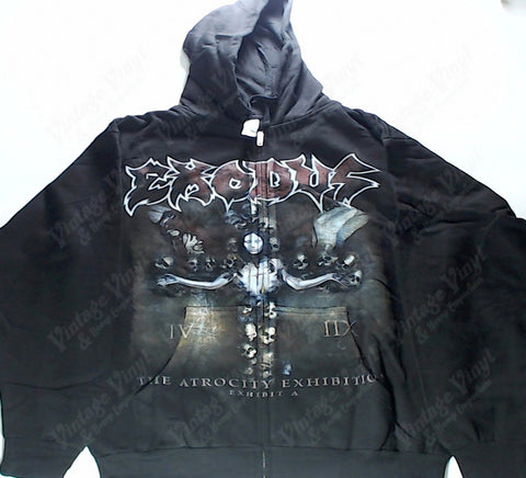 Exodus - The Atrocity Exhibition Zip-Up Hoodie