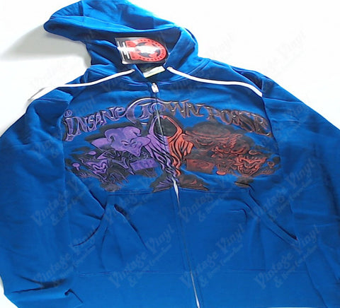 Insane Clown Posse - Blue Zip-Up Hoodie