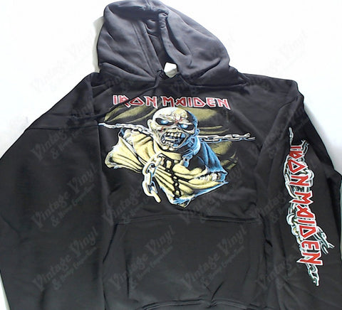 Iron Maiden - Piece Of Mind Chained Eddie Hoodie